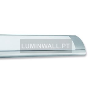 Armadura LED 18W 620mm 2700K Cinza IP20