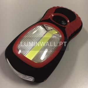 Lanterna LED Mini 3 LED's + 1 LED COB
