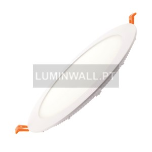 Downlight LED Redondo 18W Branco 4000K Encastrável