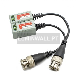 Pack 2 Video Balun HD Passivo HDTVI / HDCVI / AHD